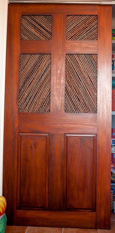 salt cedar door layout & Making Salt Cedar Door Panels